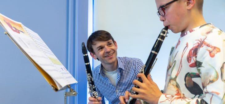Plaats voor nieuwe klarinetleerlingen